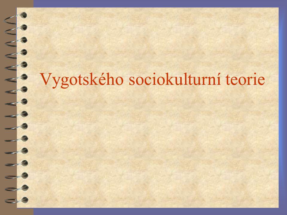 Vygotského sociokulturní teorie