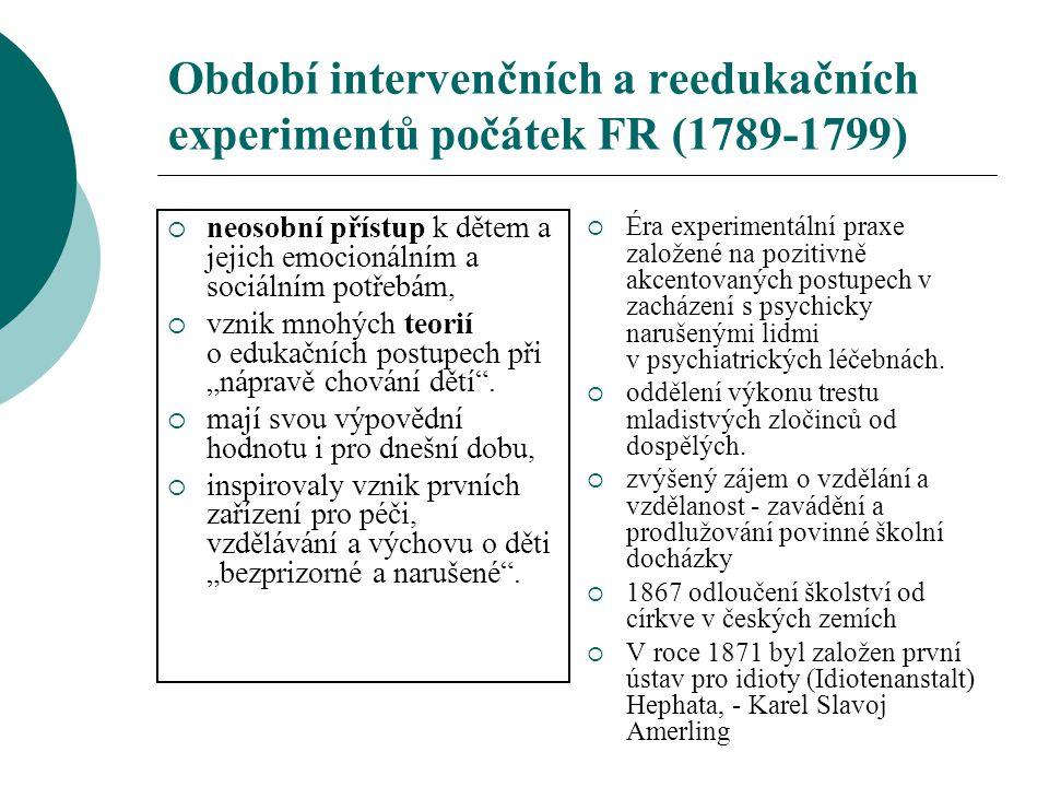 Centra odborných aktivit v ČR Pedologický ústav (Ústav pro výzkum dítěte) – 1910 (F.