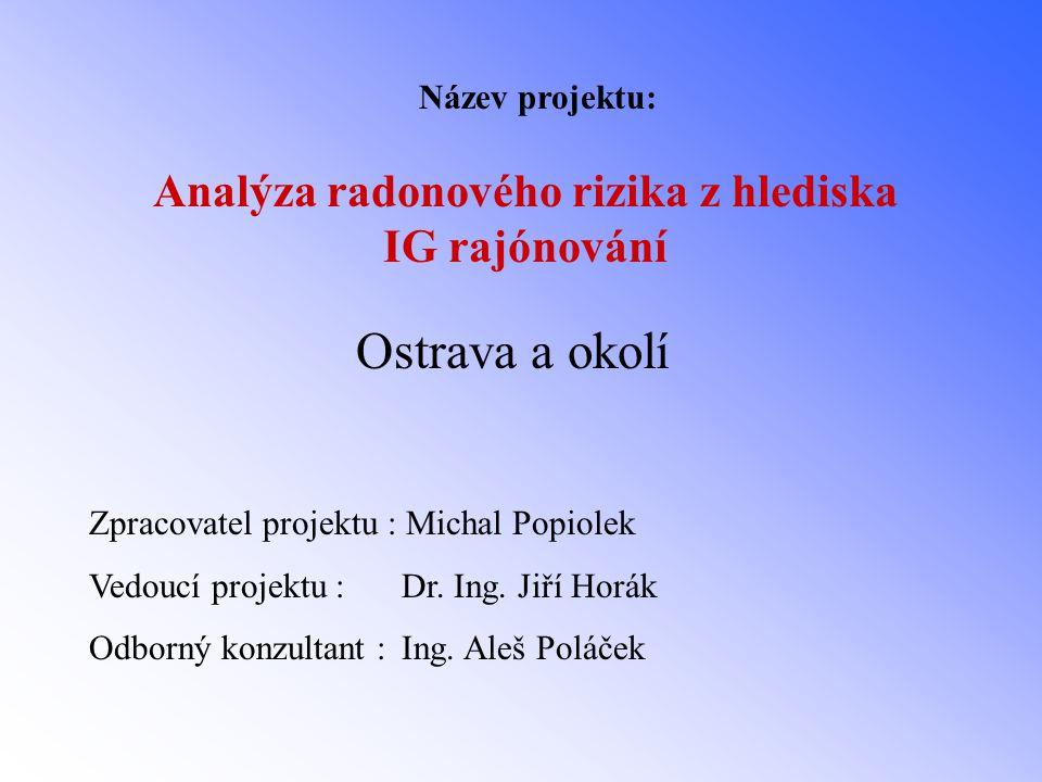Název projektu: Ostrava a okolí Zpracovatel projektu : Michal Popiolek Vedoucí projektu : Dr.