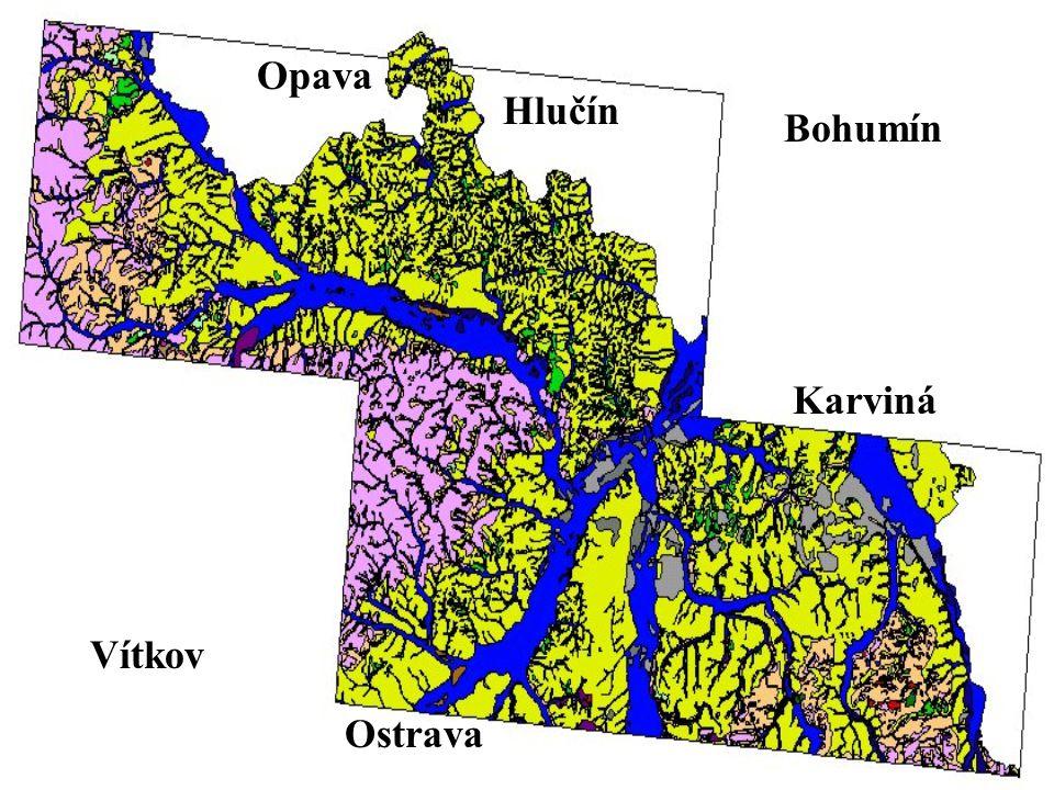 Opava Hlučín Bohumín Vítkov Ostrava Karviná