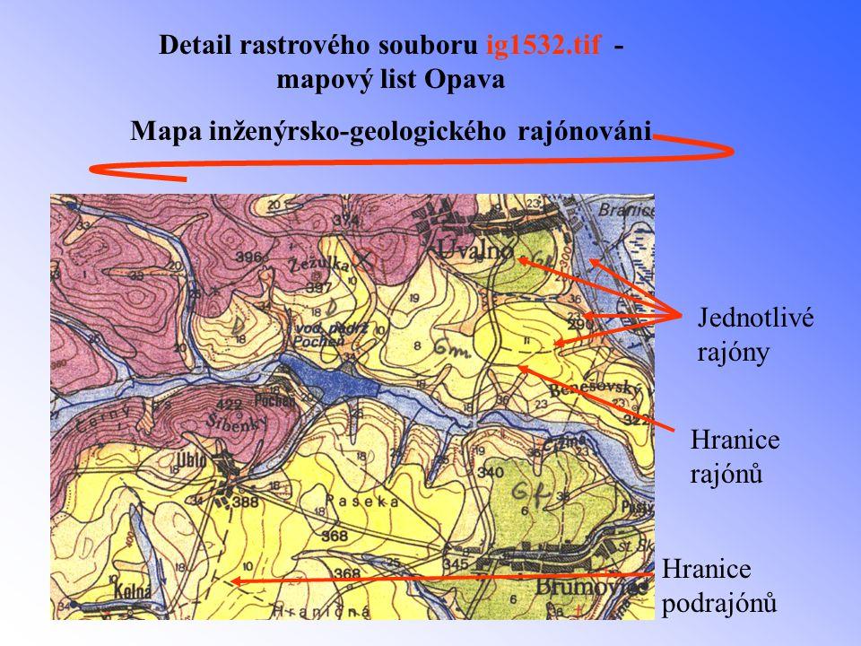 Použitá literatura Zpráva grantového projektu GAČR č.105/94/1122 Geoinfo -Geoinformační systém geologických a ekologických účelových map přírodních zdrojů Diplomová práce : Hodnocení radonového rizika na území Ostravy