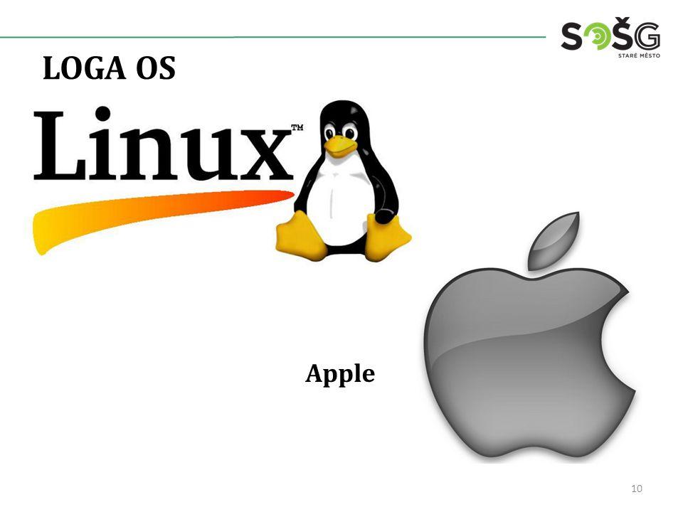 LOGA OS 10 Apple