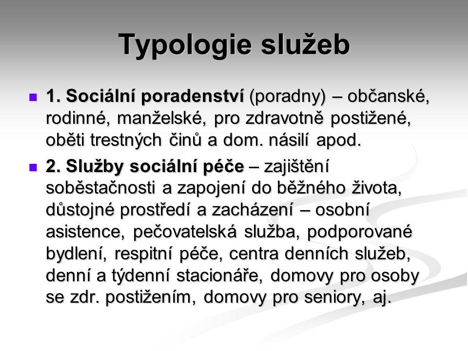 Typologie služeb 1.