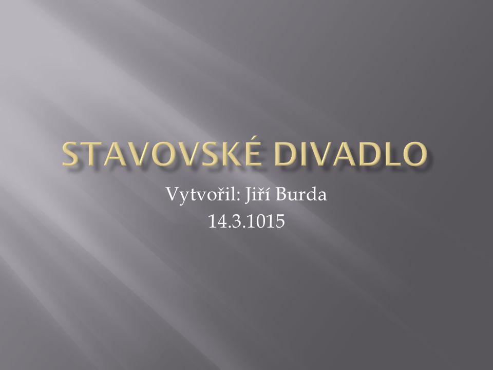 Vytvořil: Jiří Burda 14.3.1015