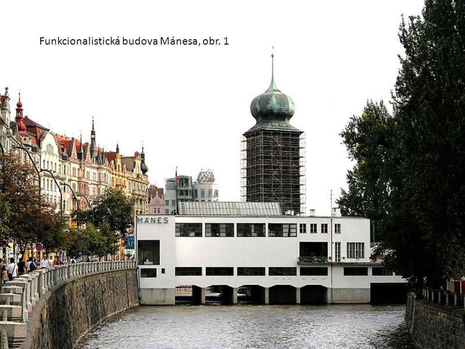 Funkcionalistická budova Mánesa, obr. 1
