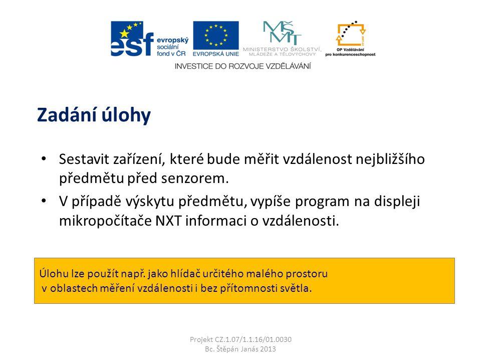 Použité zdroje a literatura Projekt CZ.1.07/1.1.16/01.0030 Bc.