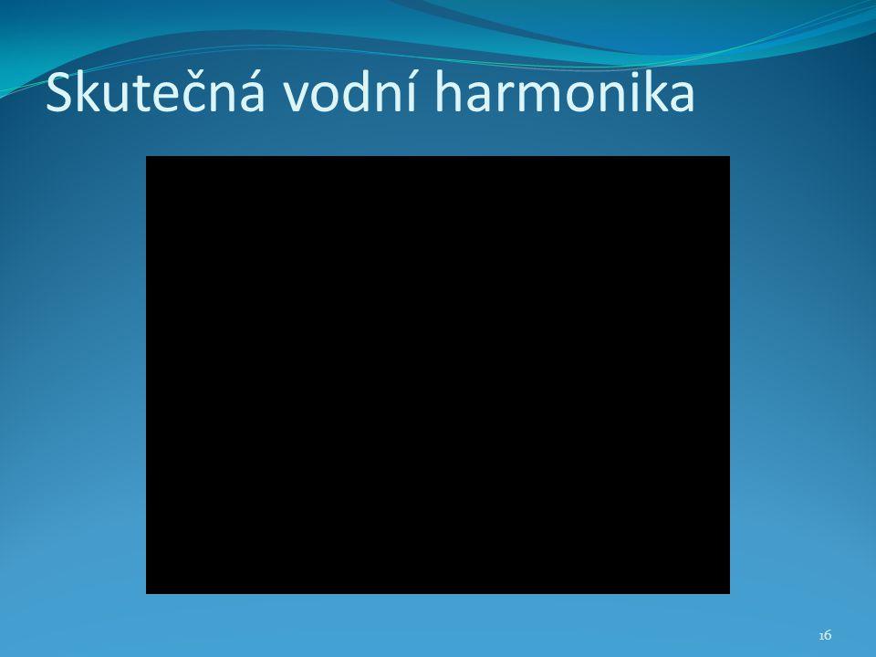 Skutečná vodní harmonika 16