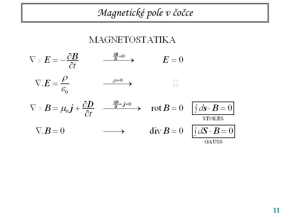 11 Magnetické pole v čočce