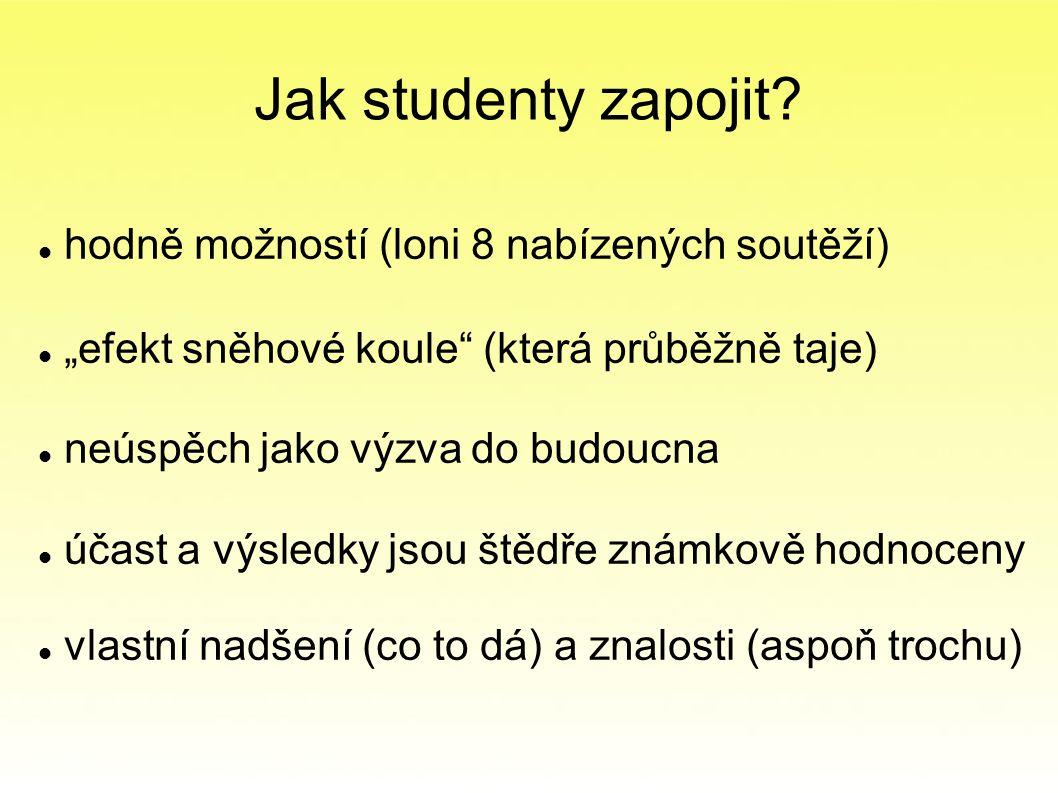 Jak studenty zapojit.
