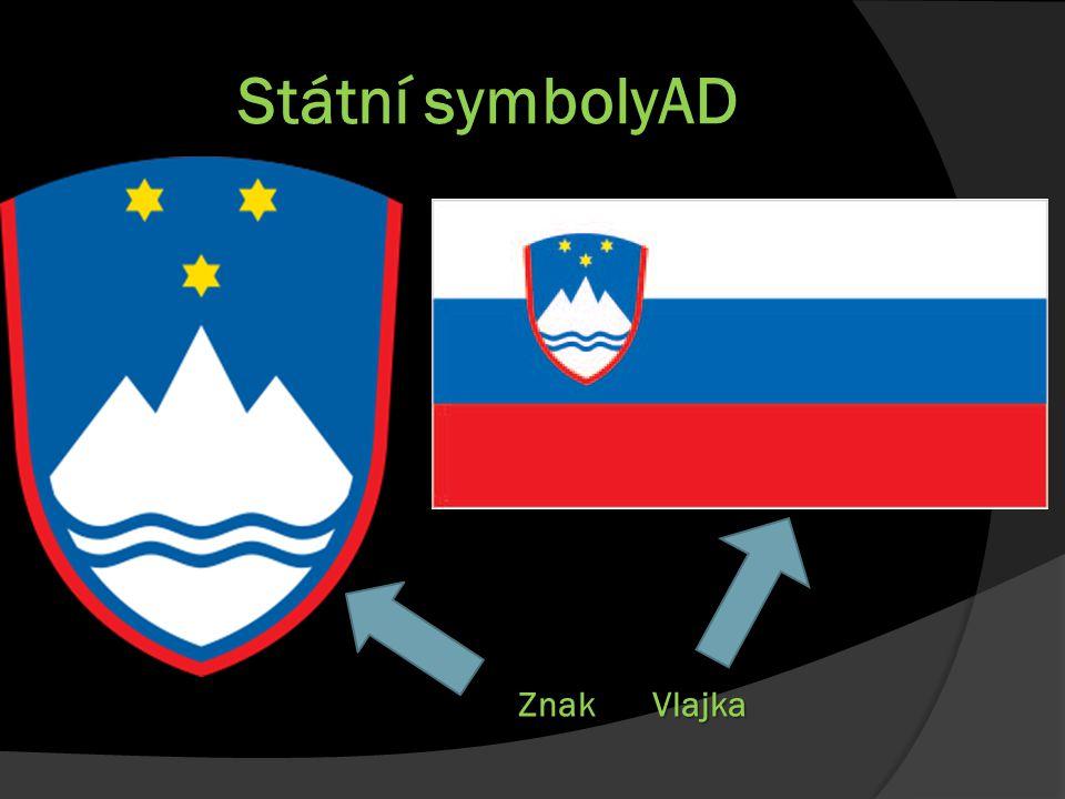Státní symbolyAD VlajkaZnak