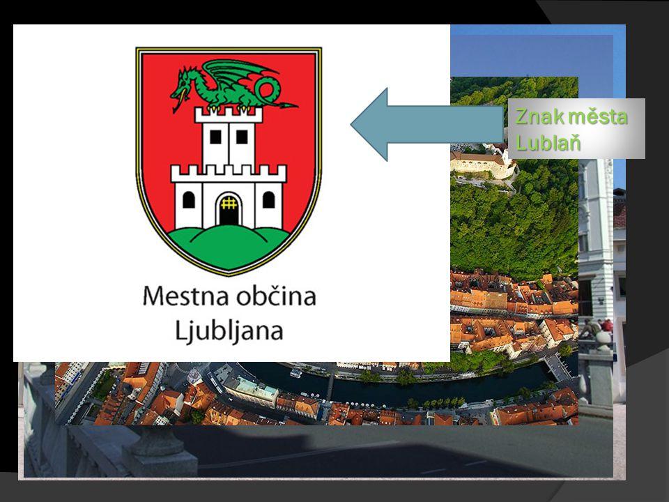 Lublaň Znak města Lublaň