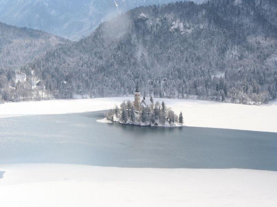 Zámeček Bled, Julské Alpy, Slovinsko