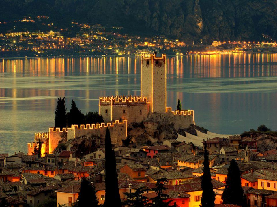 Hrad Malcesine, Lago di Garda, Itálie