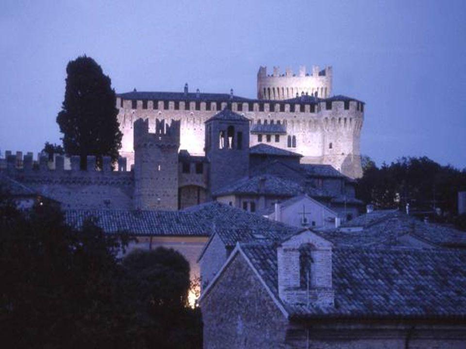 Hrad Gradara, Itálie