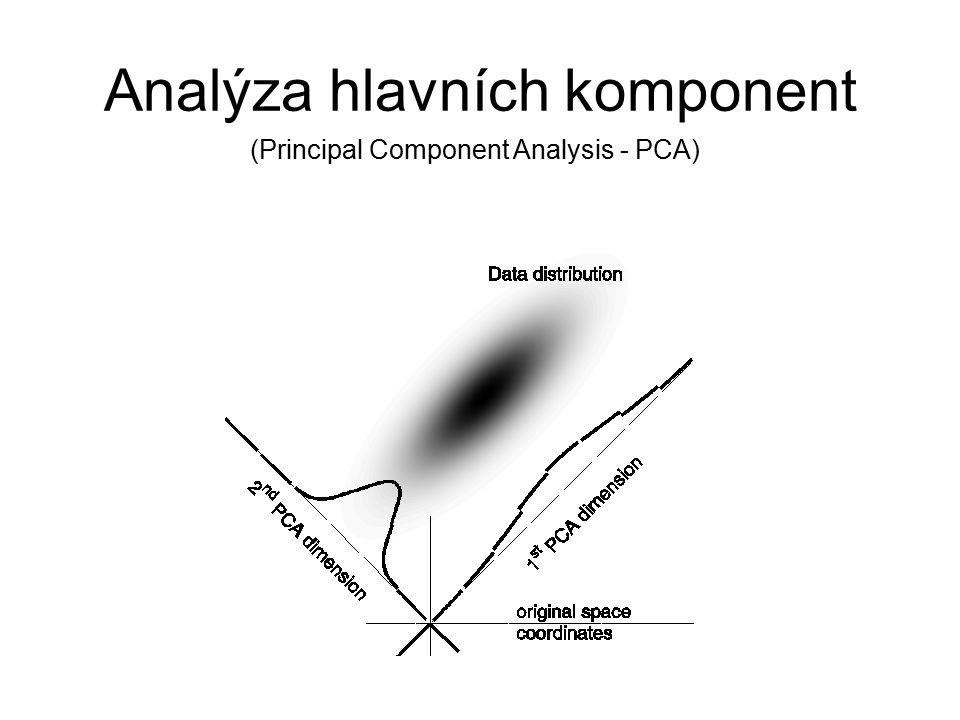 Analýza hlavních komponent (Principal Component Analysis - PCA)