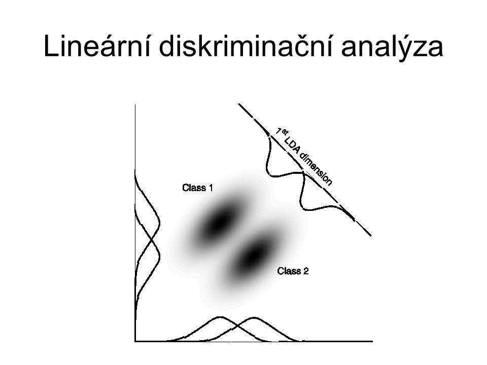 Lineární diskriminační analýza