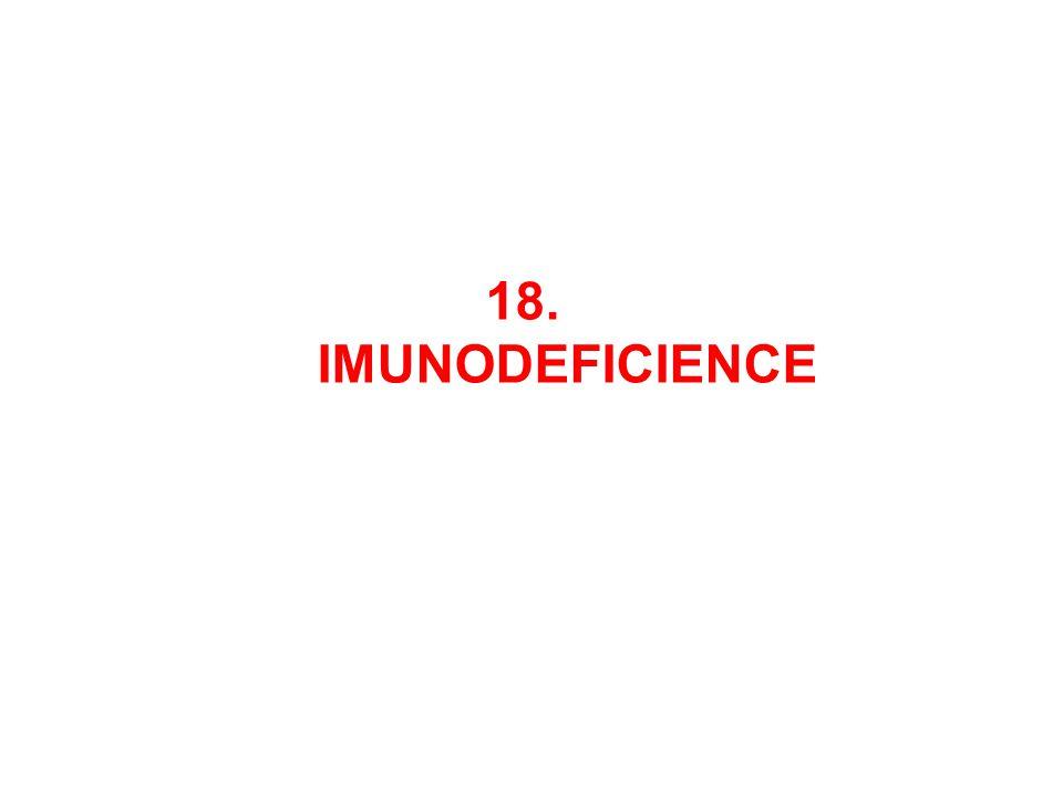 18. IMUNODEFICIENCE