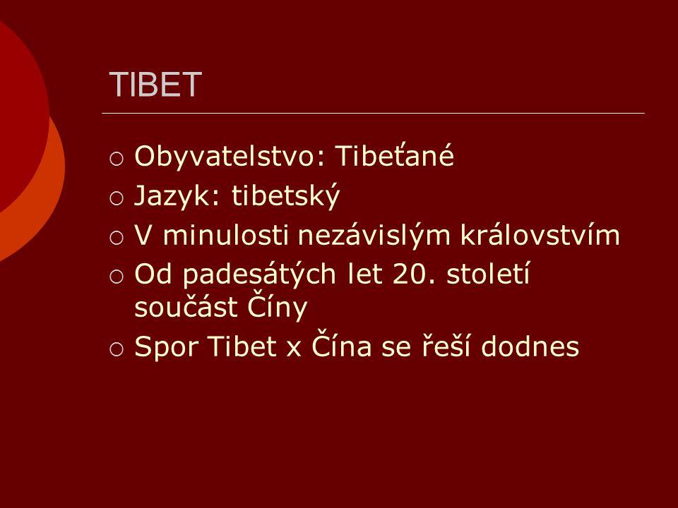 TIBET X ČÍNA  Při rozbřesku 5.