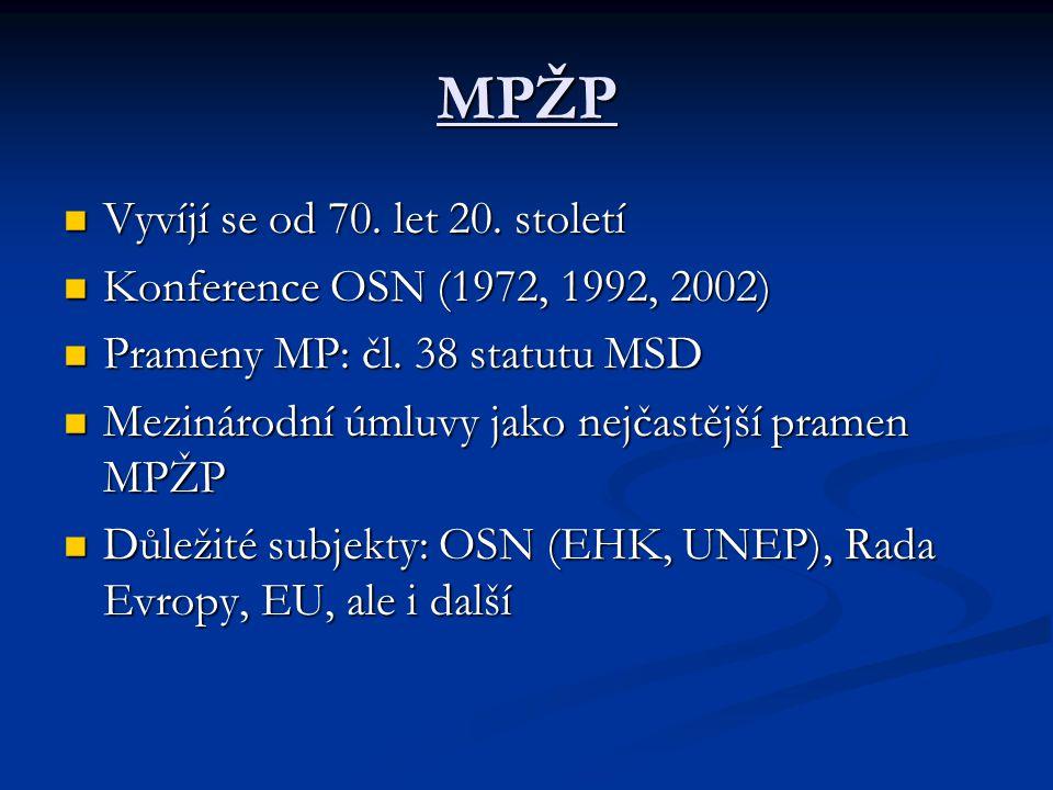 Prameny EEP Primární právo: SES (zejména čl.