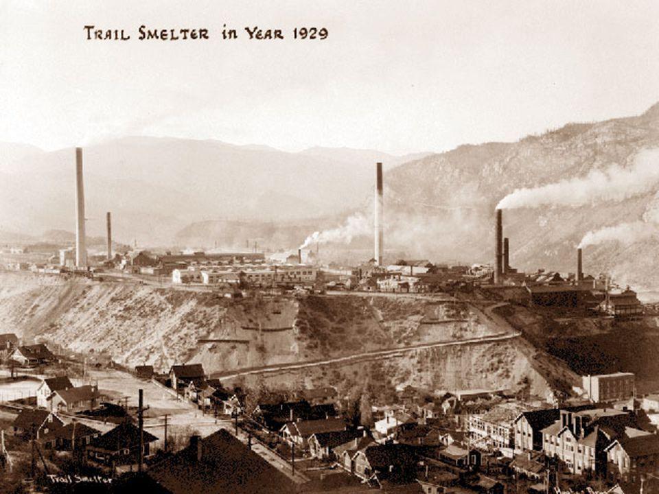 Trail Smelter Case (1941) případ Trail Smelter (USA v.