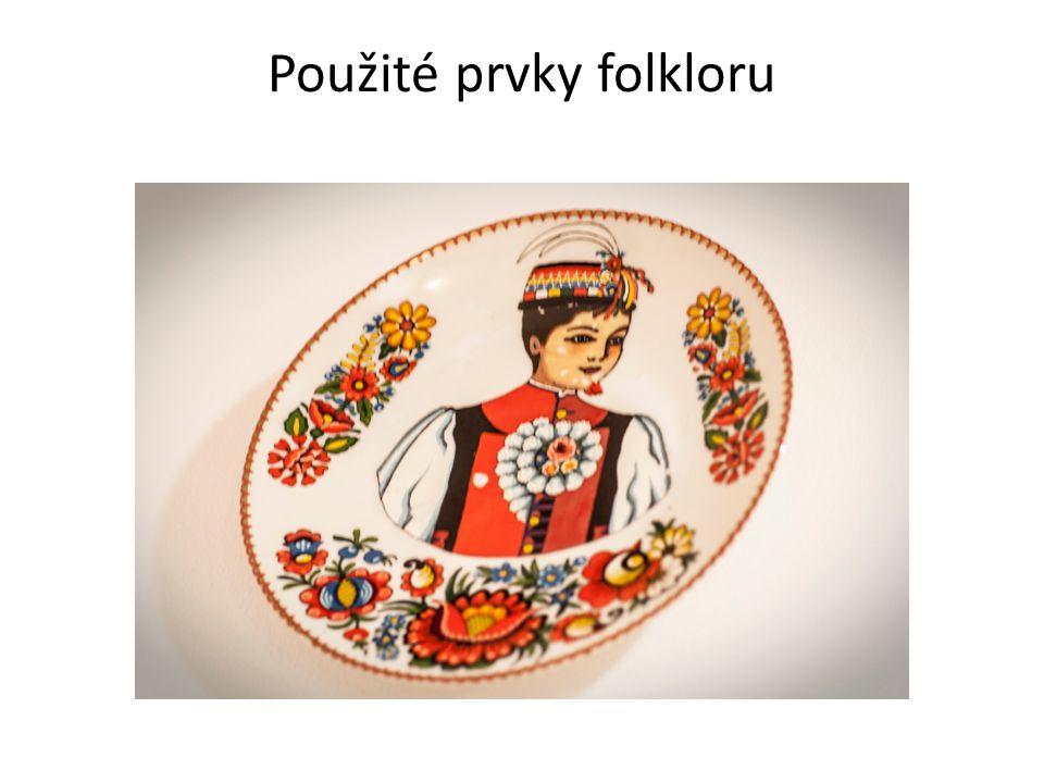 Použité prvky folkloru