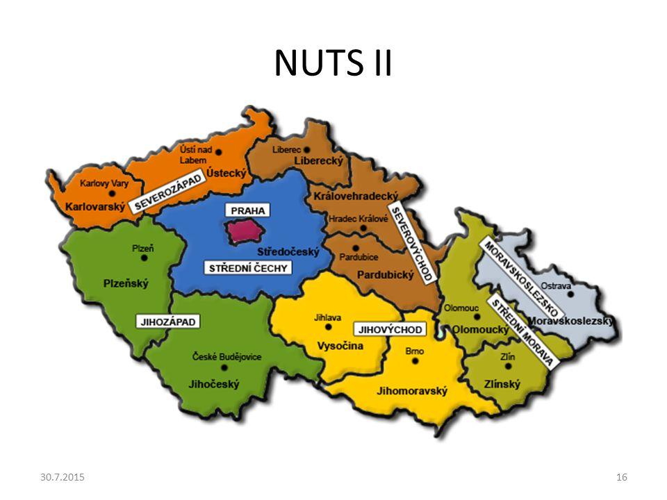NUTS II 30.7.201516