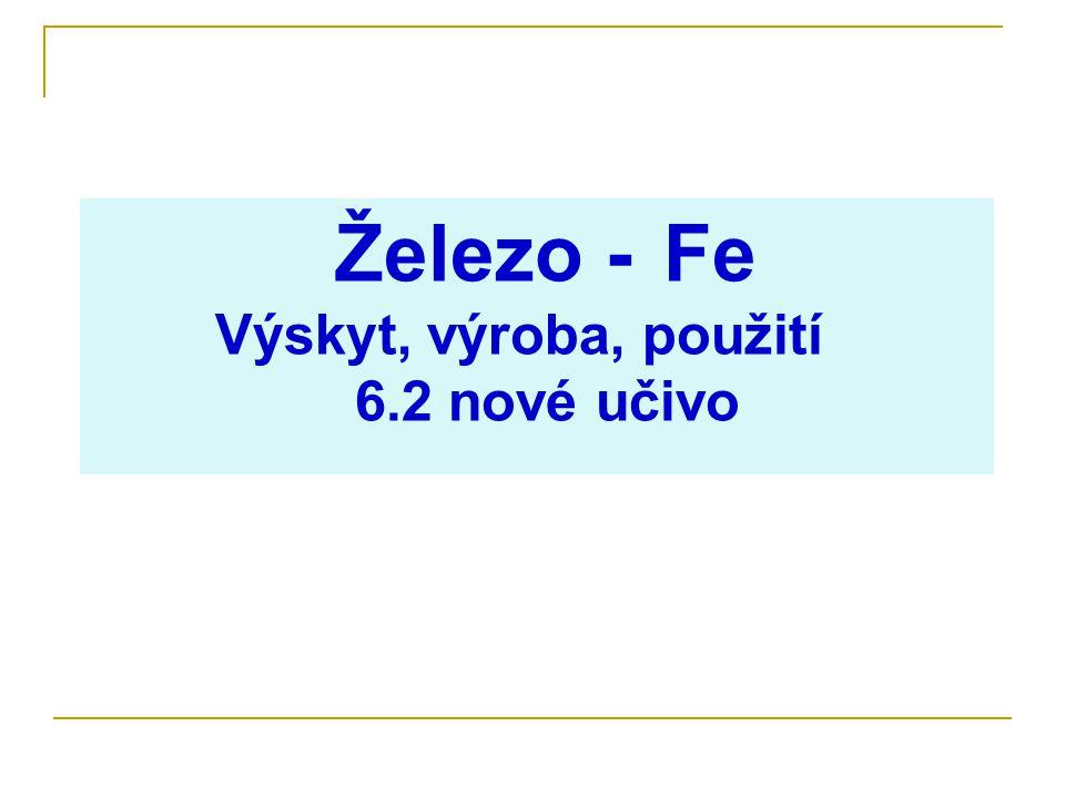 Železo- Fe