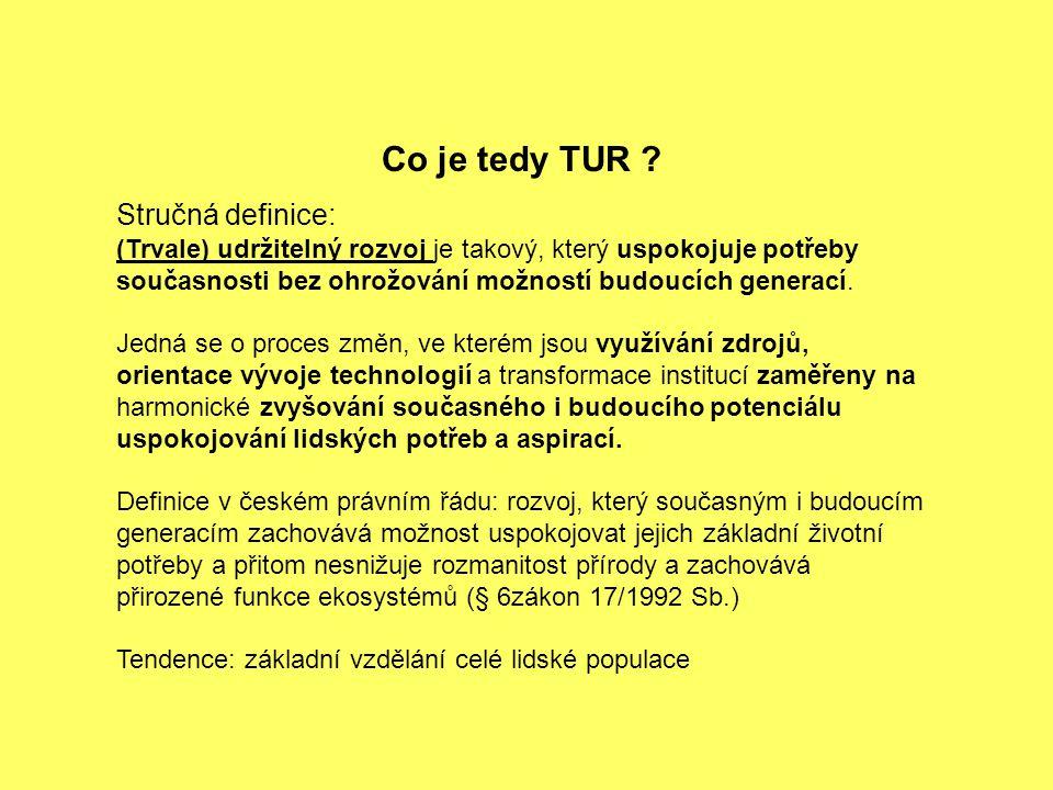 Co je tedy TUR .