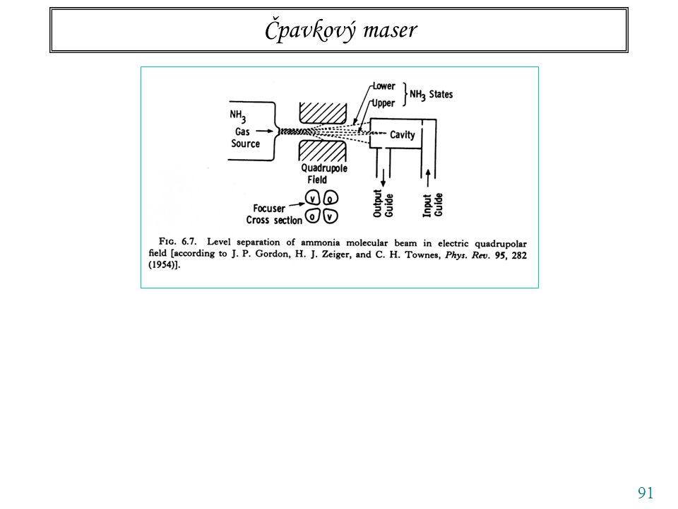 91 Čpavkový maser