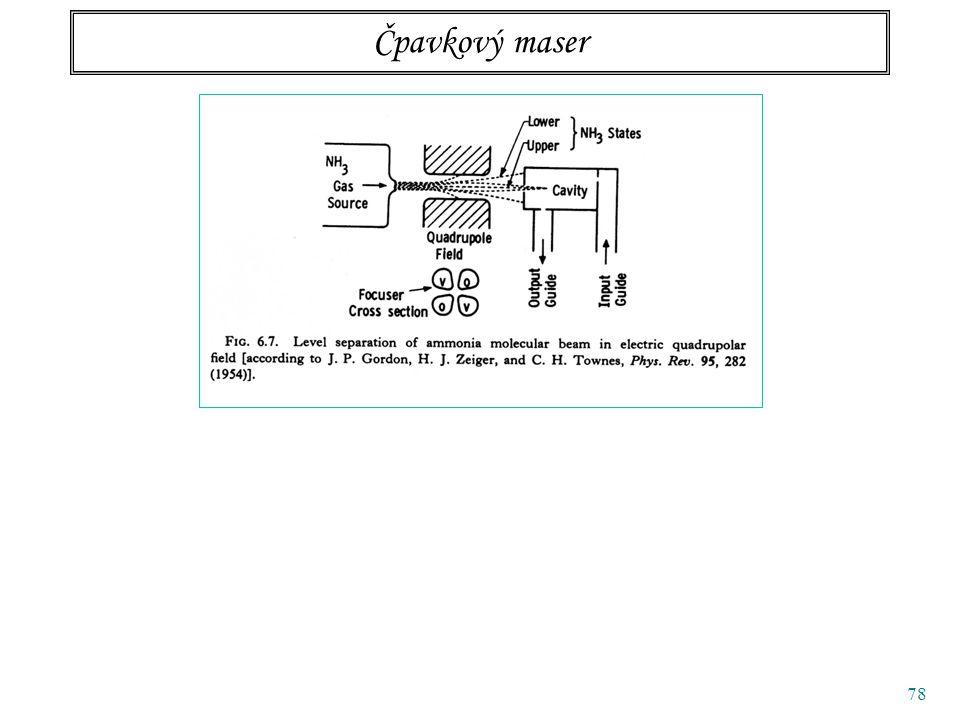 78 Čpavkový maser