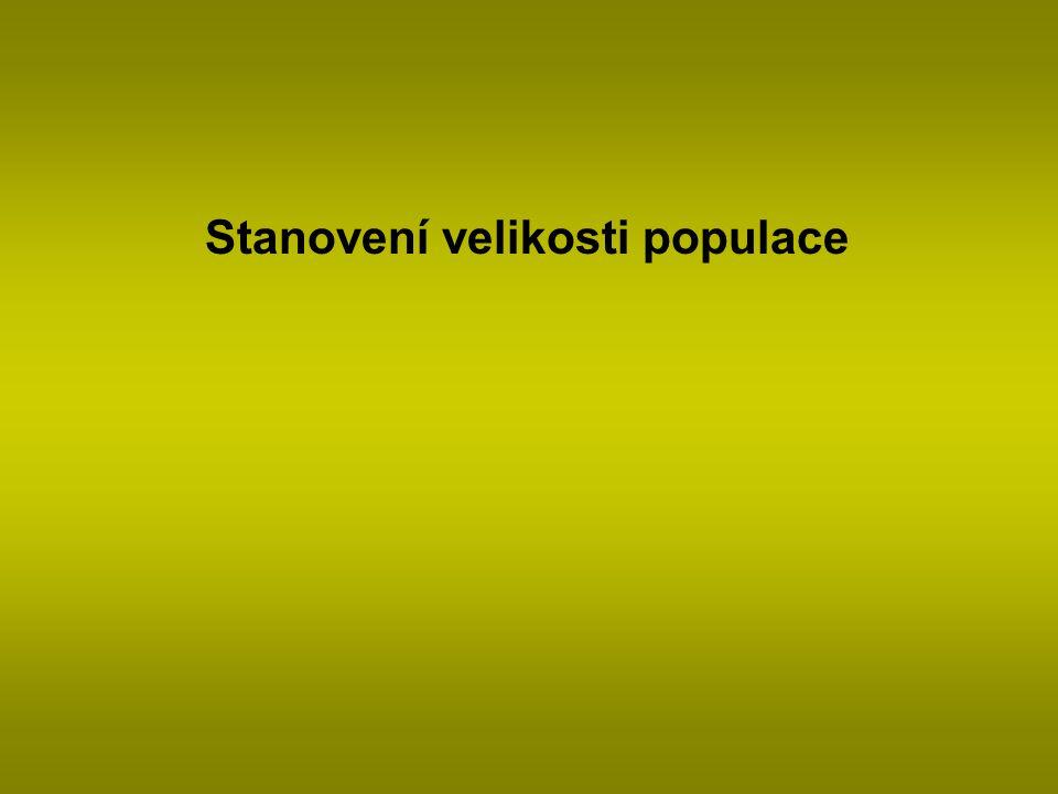 Populace = soubor jedinců téhož druhu vyskytující se v určitém prostoru, má atributy jednotlivců i speciální skupinové.