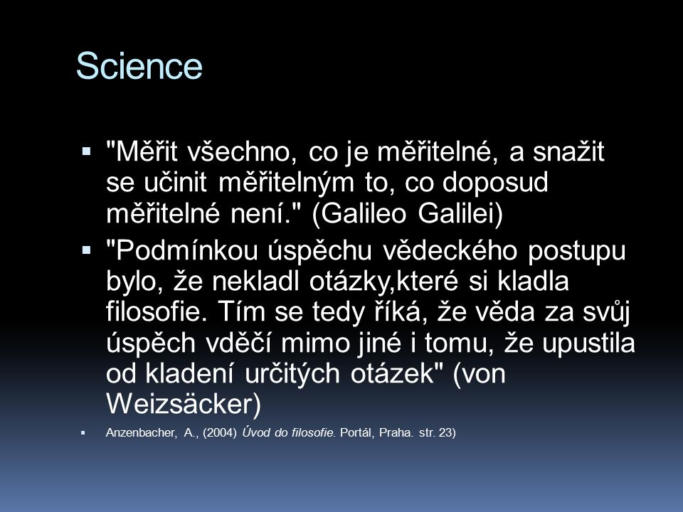Science 
