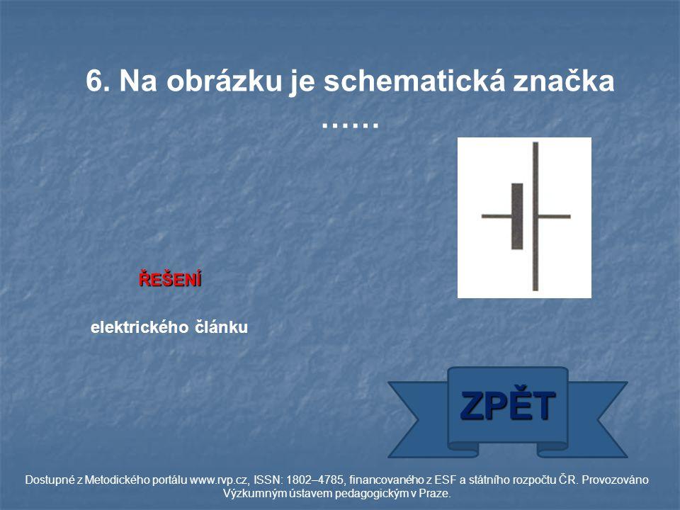 ŘEŠENÍ R = U : I ZPĚT Dostupné z Metodického portálu www.rvp.cz, ISSN: 1802–4785, financovaného z ESF a státního rozpočtu ČR.