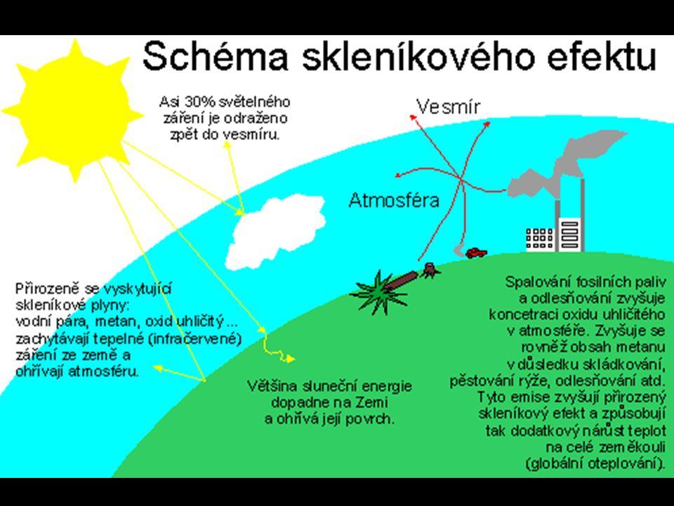 Znečištění ovzduší - smog Dalším celosvětovým problémem je znečištění ovzduší.