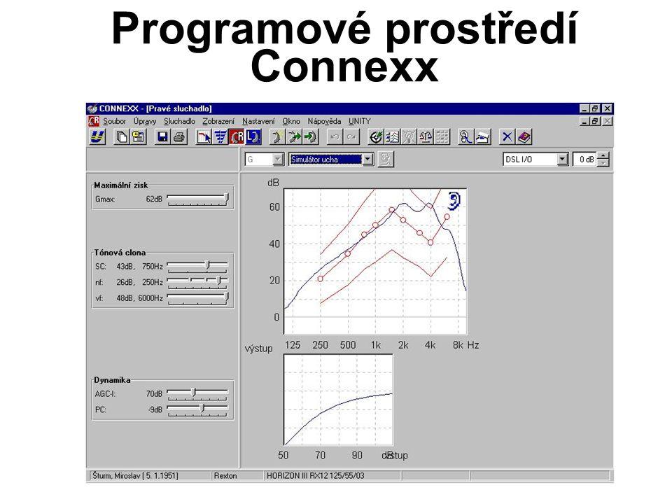 Programové prostředí Connexx