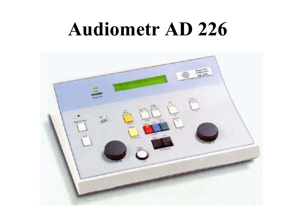 Audiometr AD 226