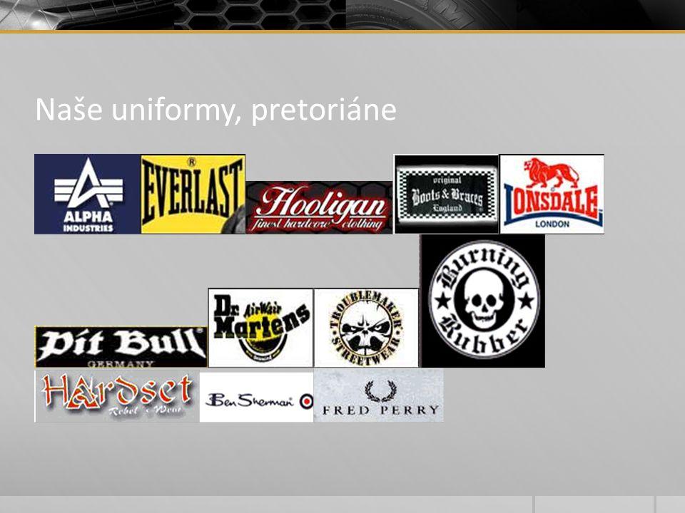 Naše uniformy, pretoriáne