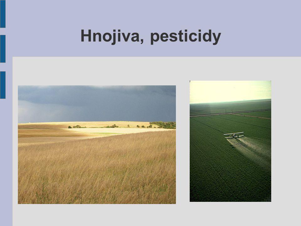 Hnojiva, pesticidy