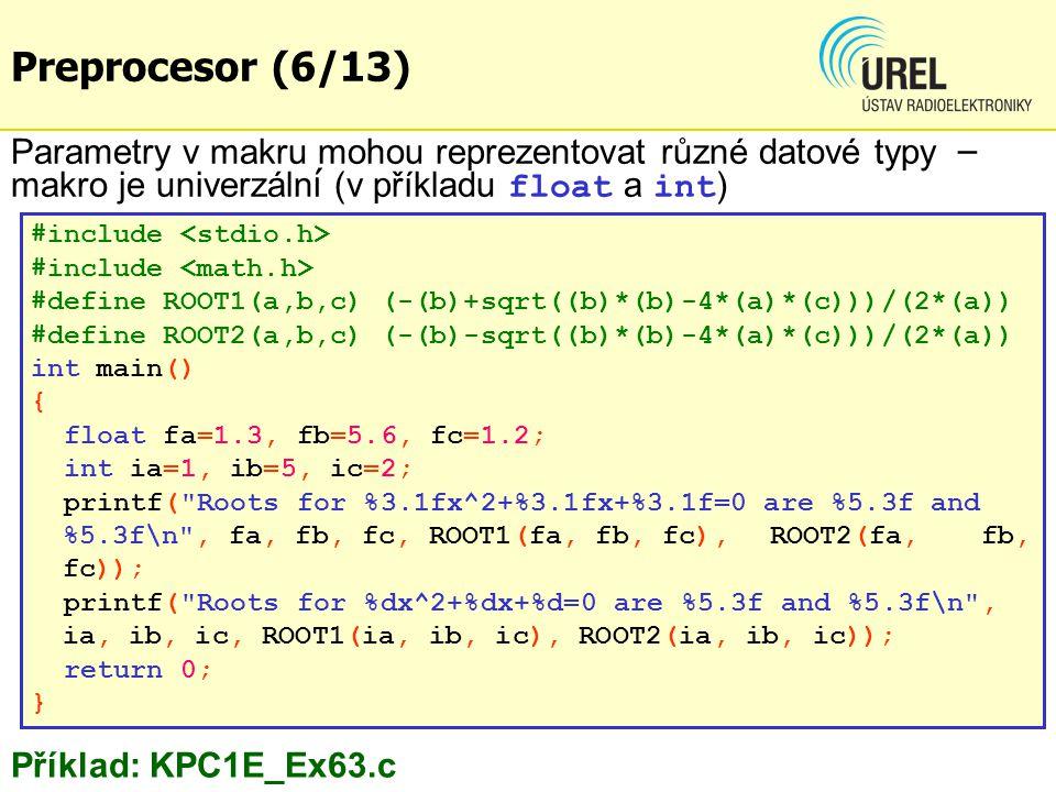 #include #define ROOT1(a,b,c) (-(b)+sqrt((b)*(b)-4*(a)*(c)))/(2*(a)) #define ROOT2(a,b,c) (-(b)-sqrt((b)*(b)-4*(a)*(c)))/(2*(a)) int main() { float fa