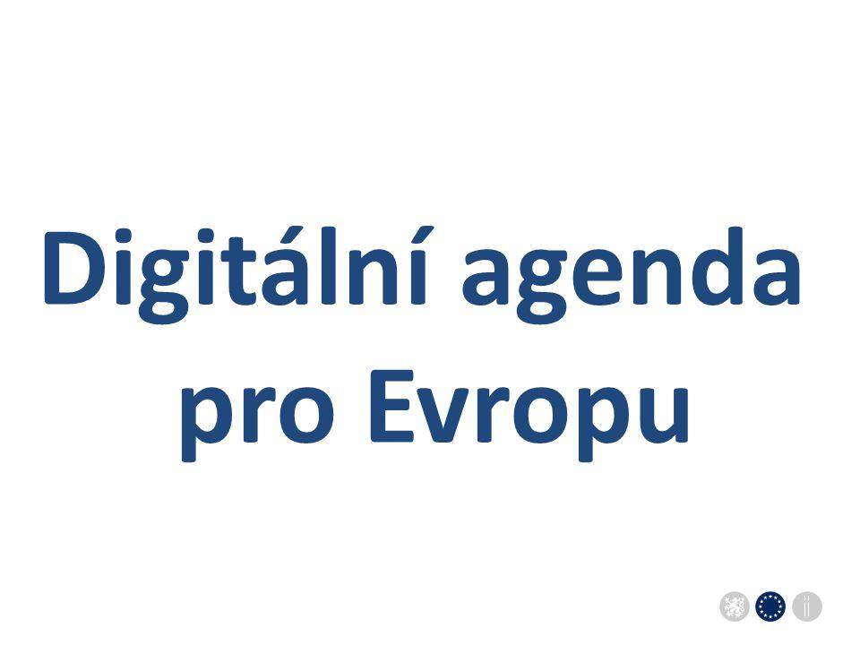 Sekce pro evropské záležitosti Úřadu vlády ČRSekce pro evropské záležitosti Úřadu vlády ČR Digitální agenda pro Evropu