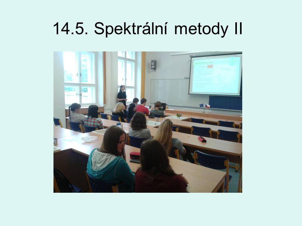 14.5. Spektrální metody II