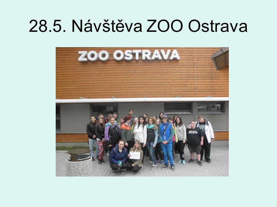 28.5. Návštěva ZOO Ostrava