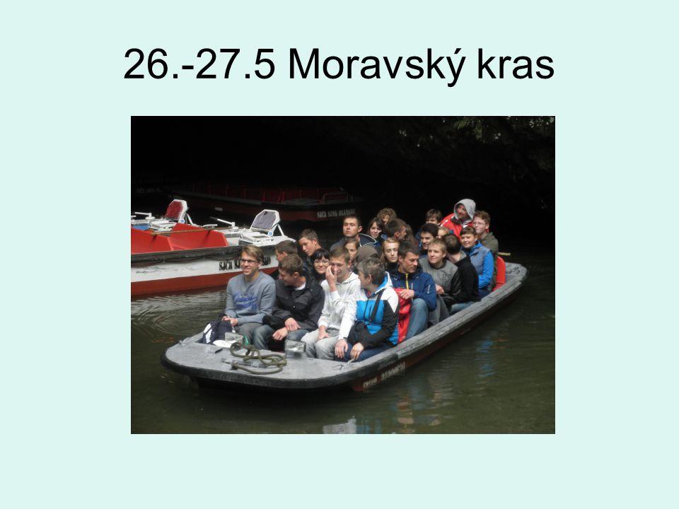 26.-27.5 Moravský kras