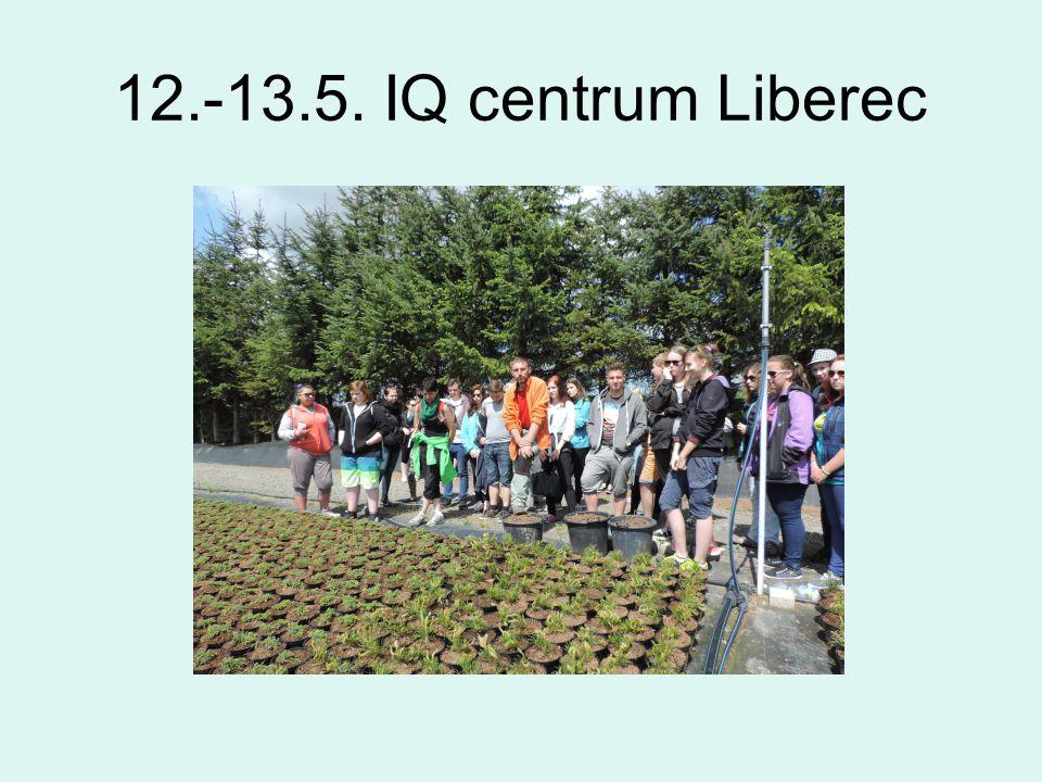 12.-13.5. IQ centrum Liberec