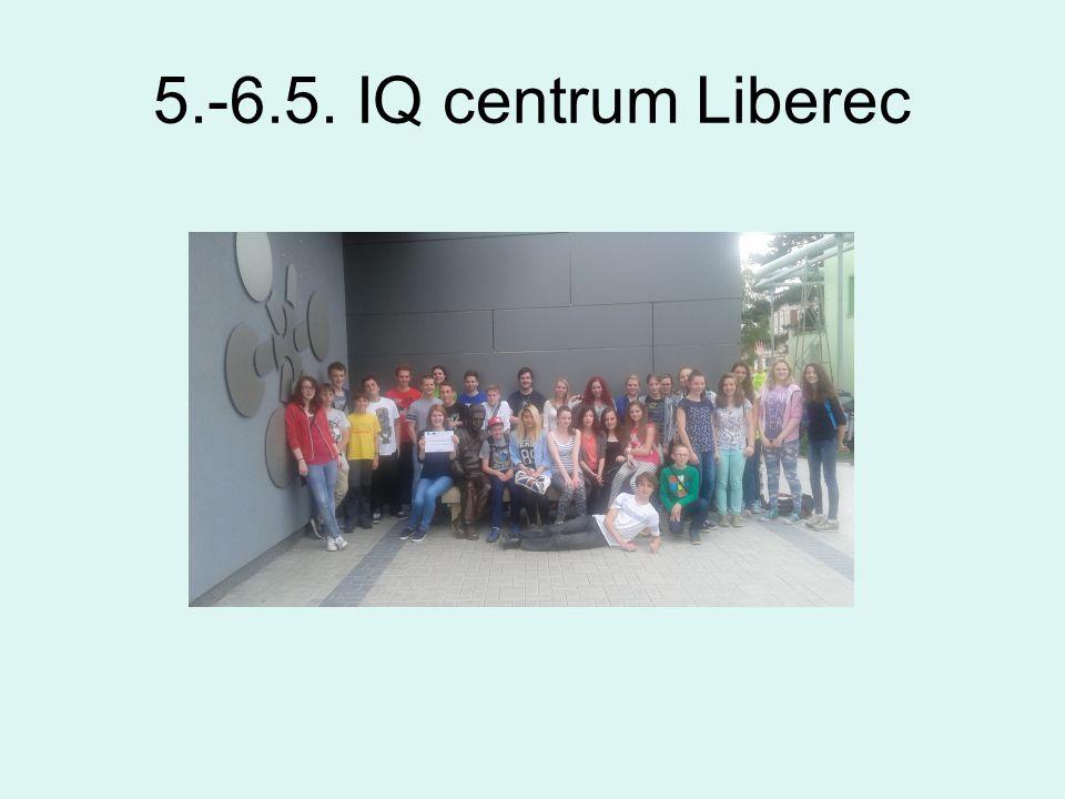 5.-6.5. IQ centrum Liberec