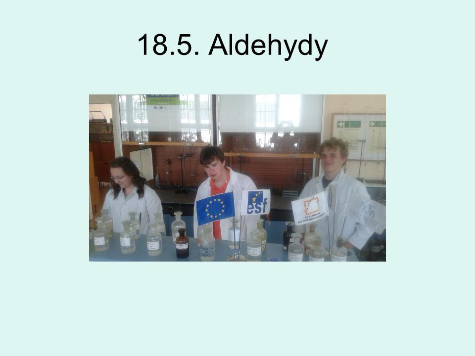 18.5. Aldehydy