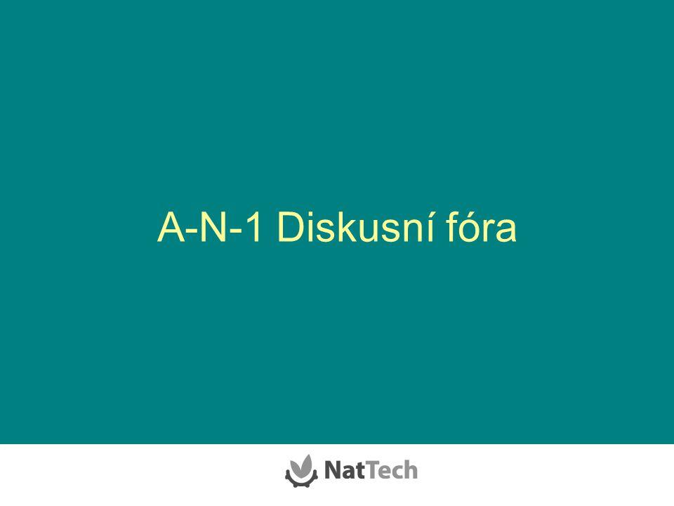 A-N-1 Diskusní fóra