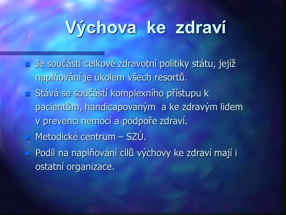 Předmět činnosti n Edukace jednotlivců, komunit a celé populace všech věkových, sociálních a etnických kategorií.