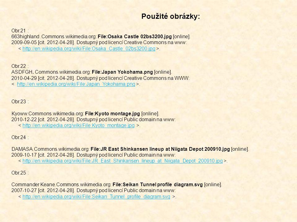 Obr.21 : 663highland.Commons.wikimedia.org: File:Osaka Castle 02bs3200.jpg [online]. 2009-09-05 [cit. 2012-04-28]. Dostupný pod licencí Creative Commo