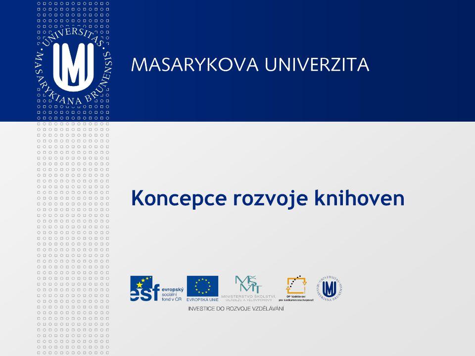 Koncepce rozvoje knihoven